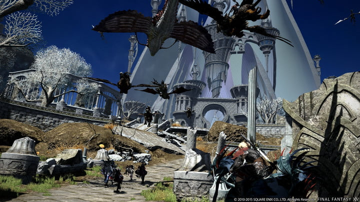 best mmorpgs available right now ff14online