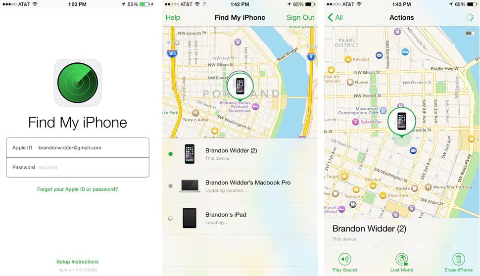 where to find find my iphone how to use find my iphone on your mac or another ios 6251