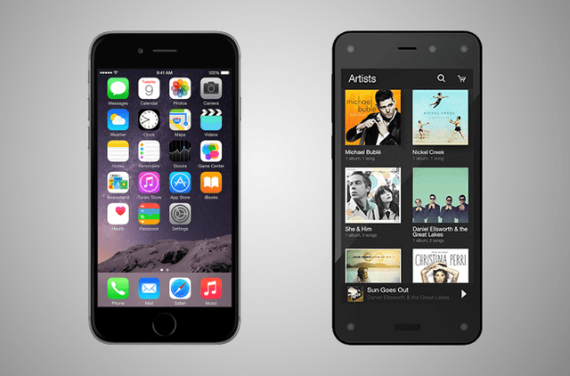 iphone 6 vs fire phone firephone