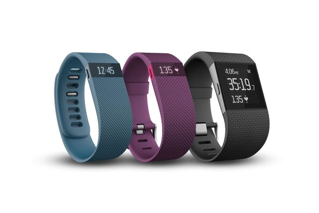 fitbit charge surge fitness trackers and