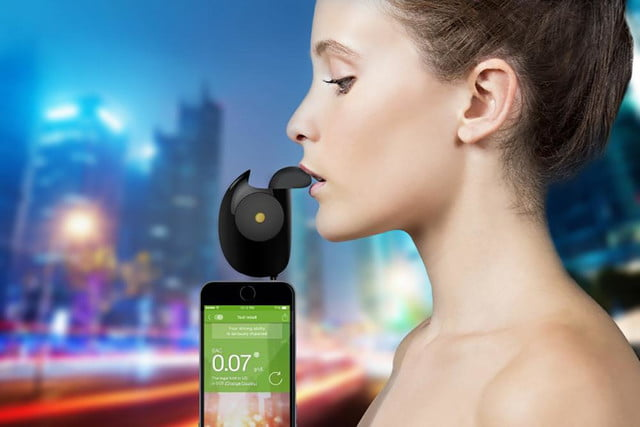 floome smart breathalyzer connects to your smartphone floorme ad press image