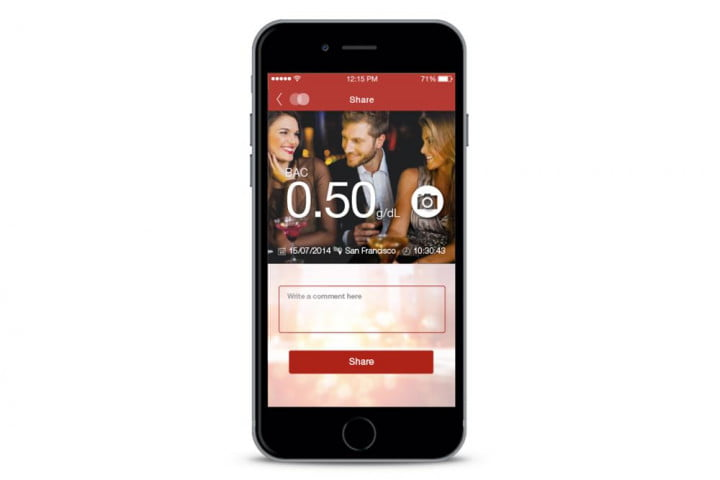 floome smart breathalyzer connects to your smartphone floorme comment press image