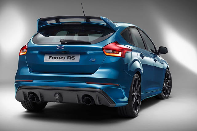 ford focus rs pricing performance specs news 07