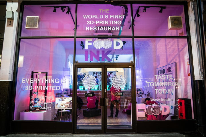 3d food printers how they could change what you eat ink london restaurant 16