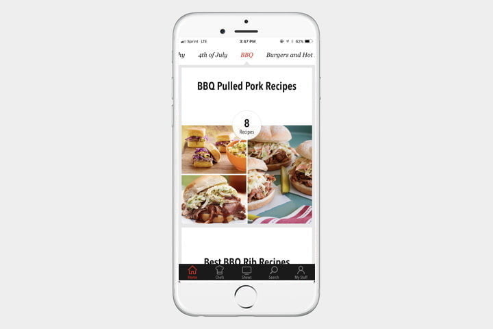 best iphone apps food network in the kitchen