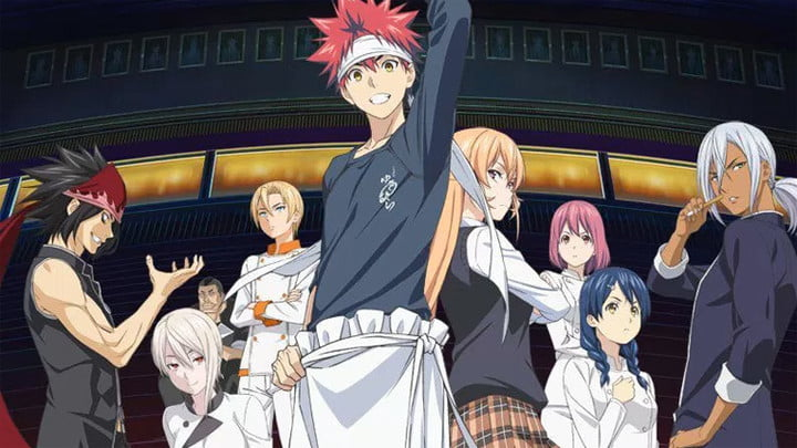 best anime on crunchyroll and funimation foodwars