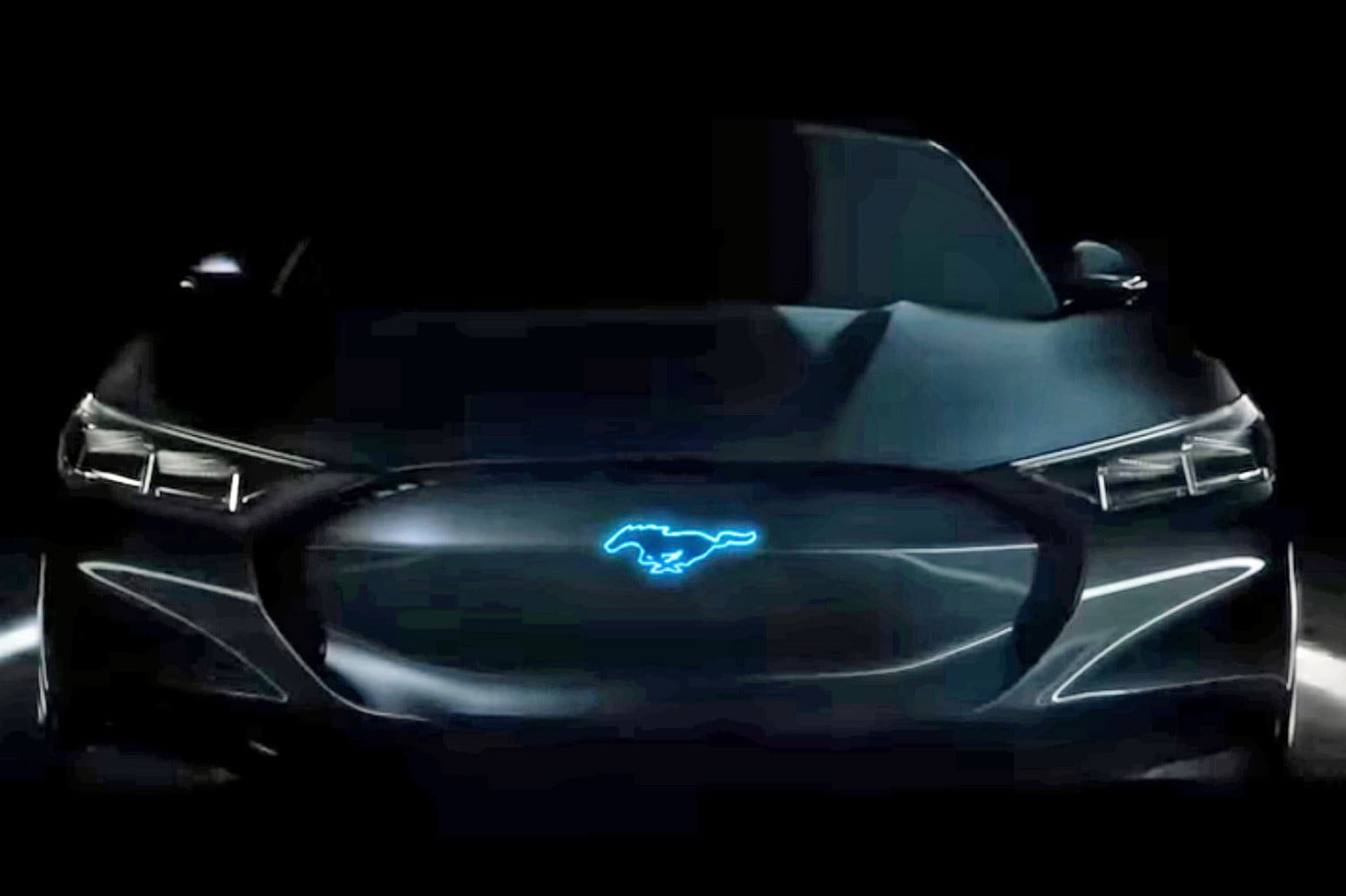 Mustang like and electrified what did ford just show a preview of