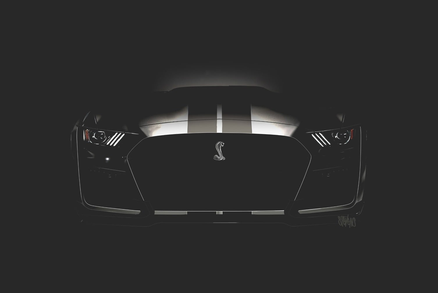 Ford mustang shelby gt500 confirmed for 2019 news teaser digital trends