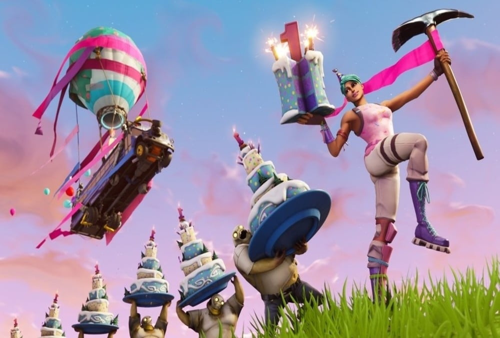 Where To Find All Fortnite Birthday Cake Locations Digital Trends
