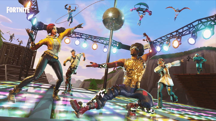 fortnite season 7 week 2 challenges: Dance off at an abandoned mansion