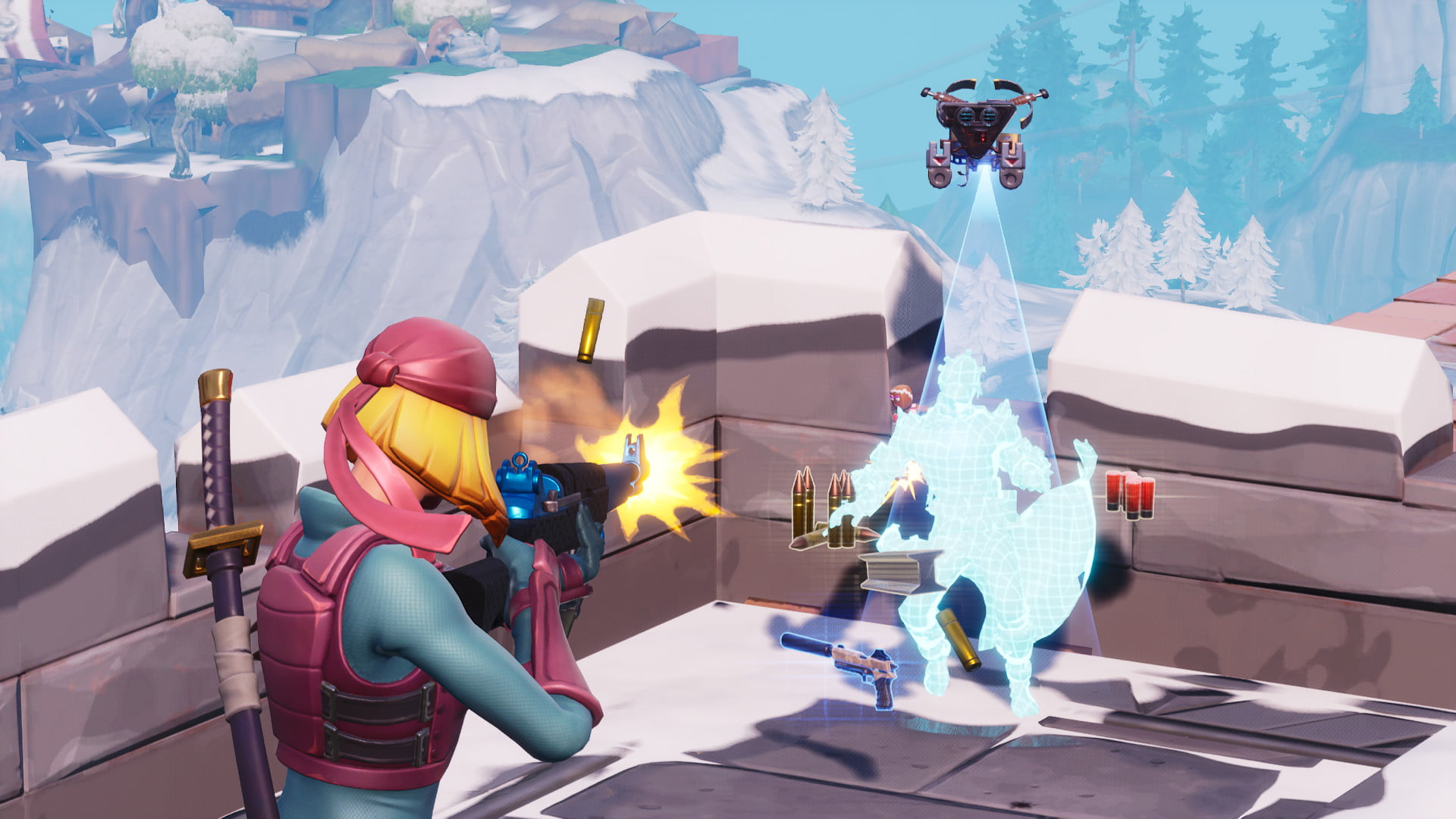 Five highest places on fortnite map