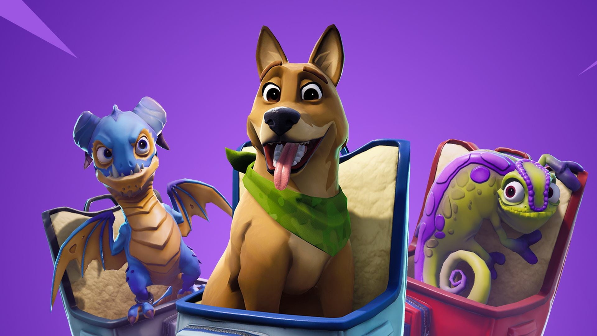 Pet the dog in Fortnite update v8 40 and take flight in the Air