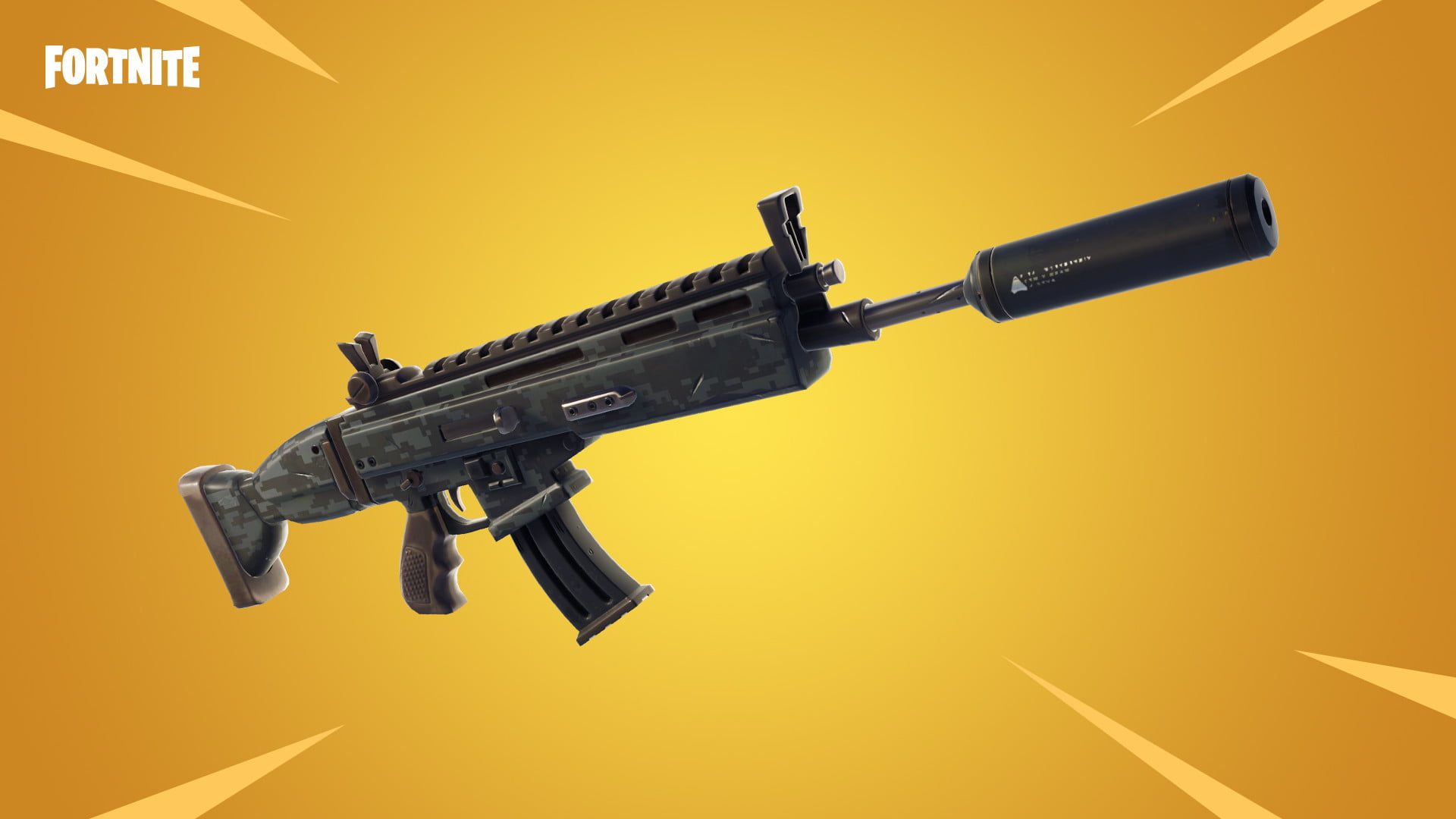 Image result for when did the suppressed assault rifle come out in fortnite