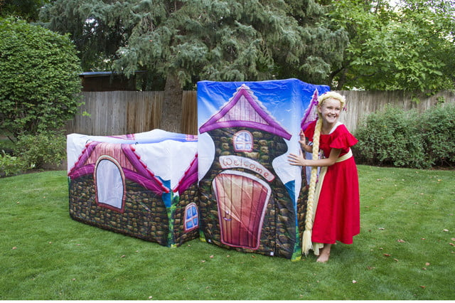 fortsy is an inflatable play fort on kickstarter magic cottage