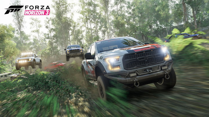 best xbox one exclusives forza horizon 3 preview jungle trucks