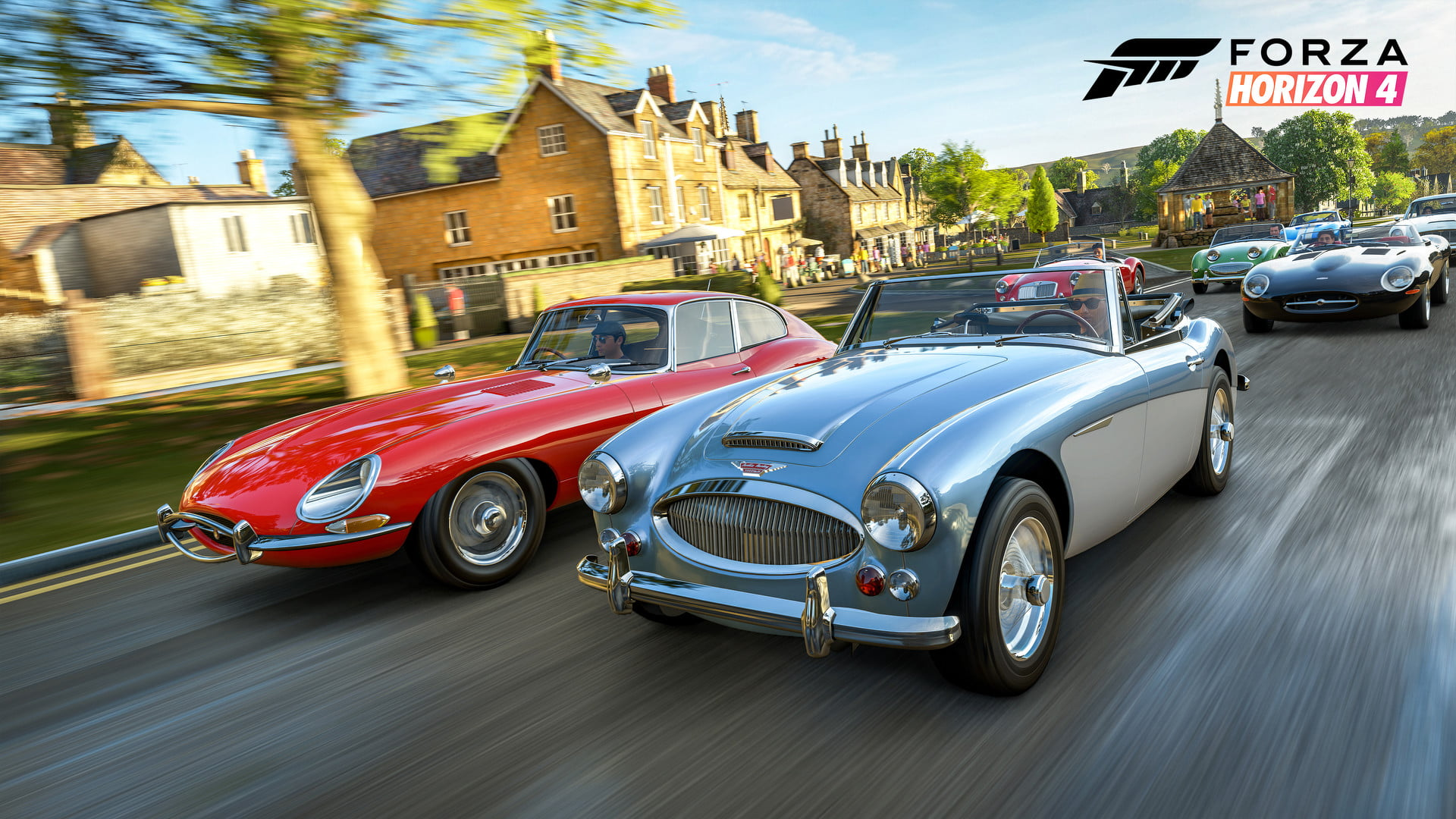 Forza Horizon 4 Hands-On Classic British