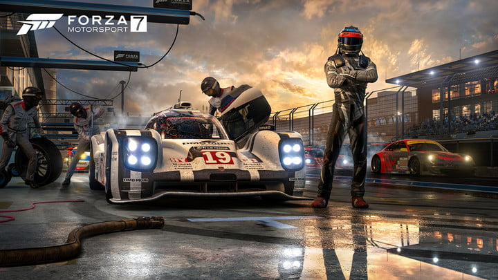 Forza Motorsport 7 is one of the largest games ever, with 100GB install size
