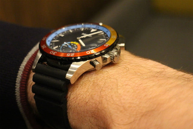 fossil q crewmaster crown