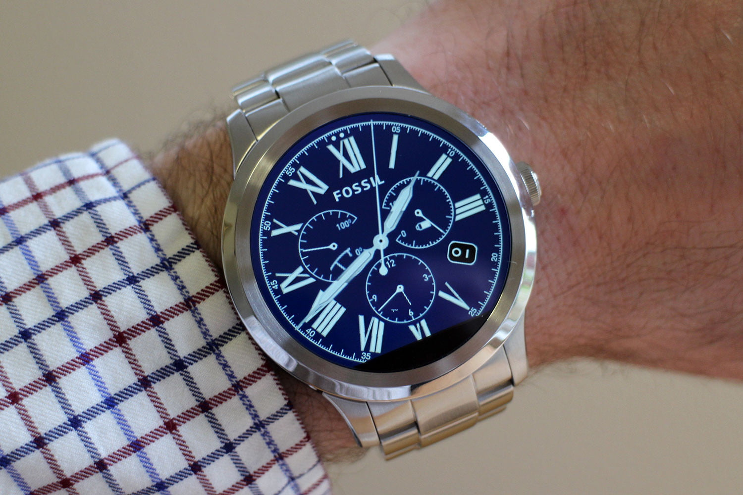 fossil q nate smartwatch review
