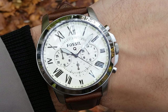 high tech valentines day gifts for the man in your life fossil q grant chronograph smartwatch