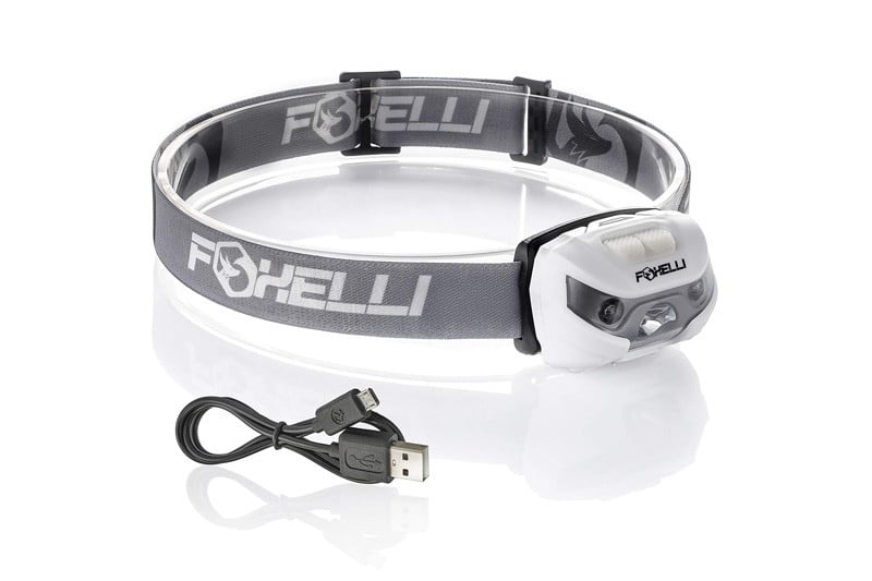 dirt cheap camping gear foxcelli headlamp