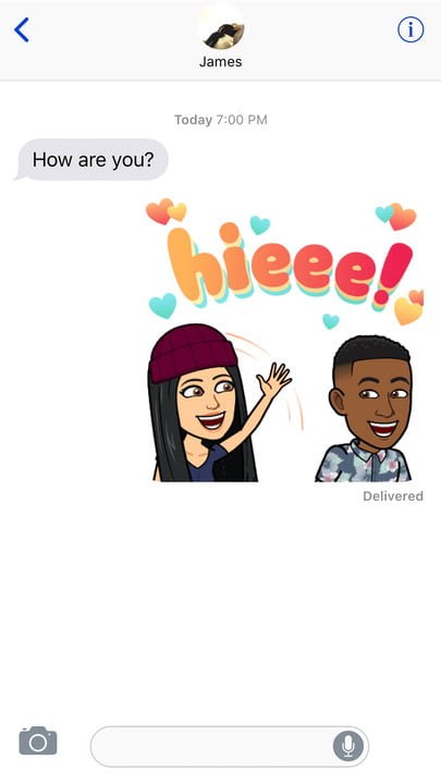 bitmoji adds friendmoji feature to ios on keyboard 2