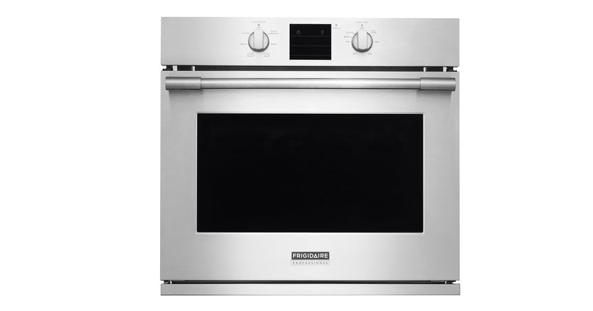 Frigidaire Professional 30 Inch Wall Oven Fpew3077rf Review Digital Trends