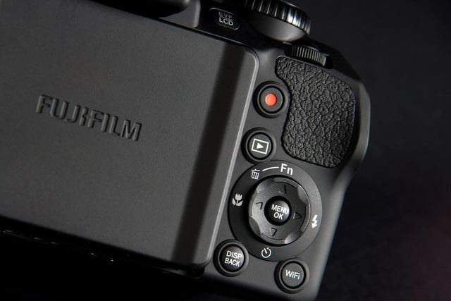 Fujifilm FinePix S1 controls