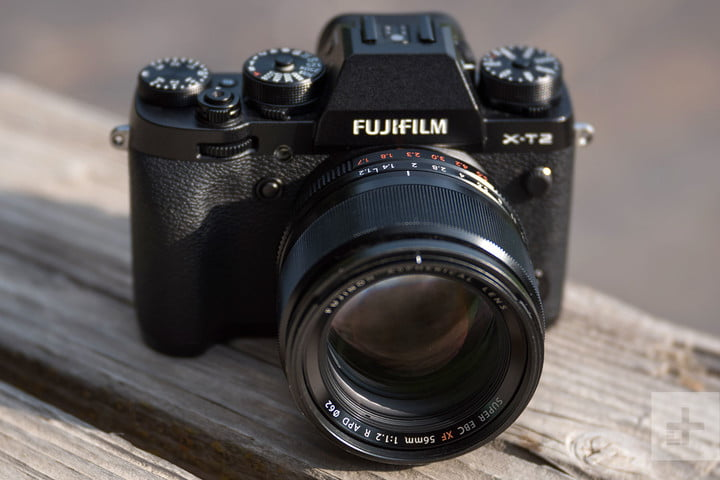 Fujifilm XF56mm f1.2R APD review front