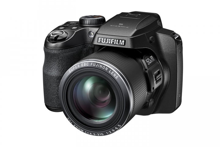 5 axis stabilization tougher bodies make features new fujifilm finepix cameras s9800 black front left