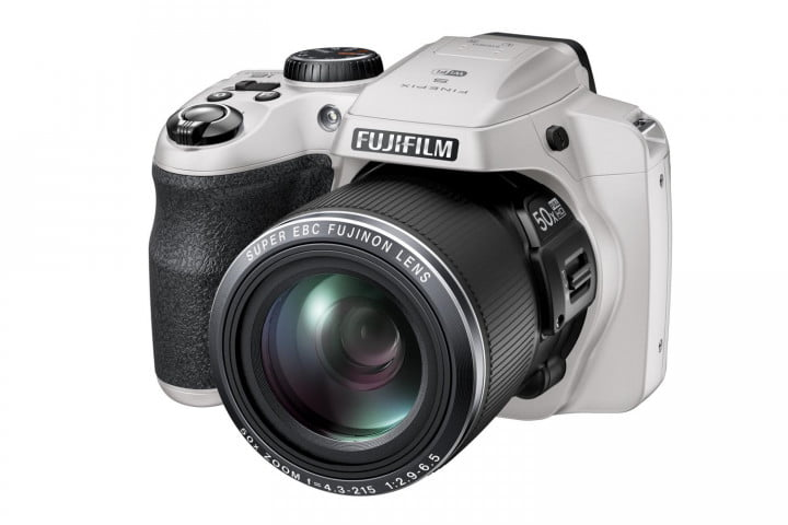 5 axis stabilization tougher bodies make features new fujifilm finepix cameras s9900w white front left