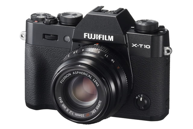 fujifilm unveils small 35mm prime lens that delivers big results xf35mm f2 x t10 black front left