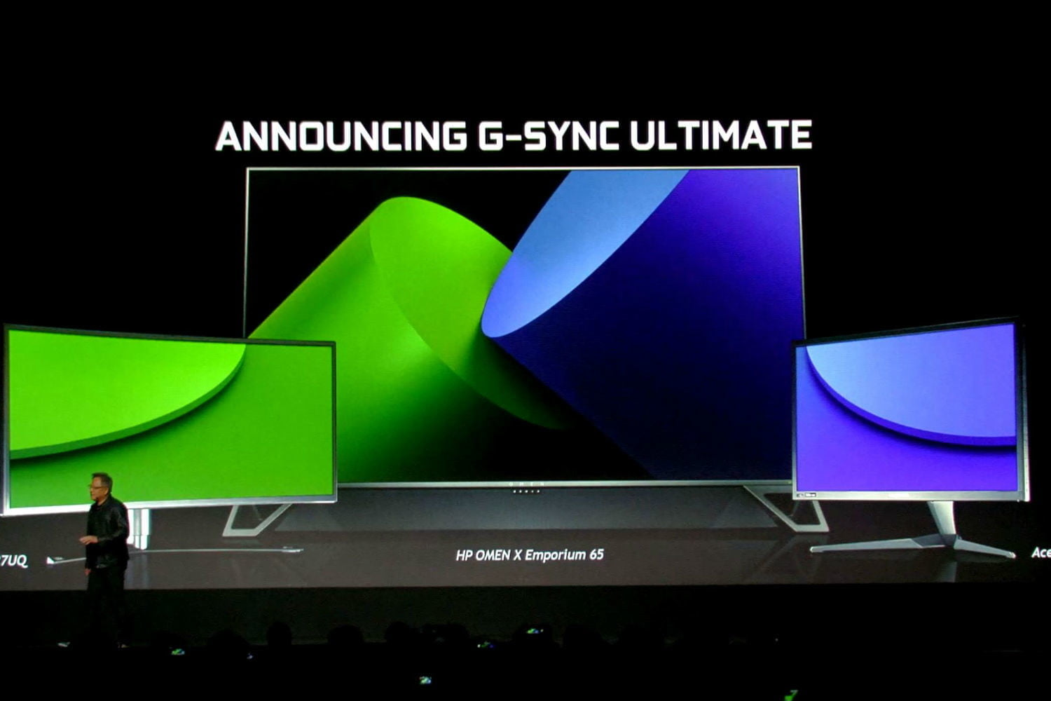 nvidias ces 2019 presentation was all about gaming g sync ultimate2