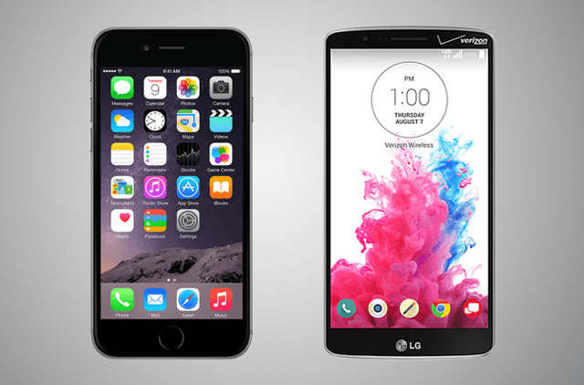 iPhone 6 vs. LG G3: Can the G3 dethrone the new iPhone?