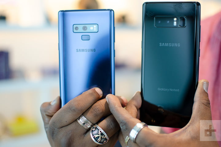 Galaxy Note 9 and Galaxy Note 8 comparison