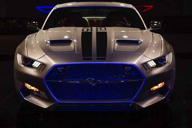 galpin auto sports unveils first production rocket mustang galpinrocket exterior 05