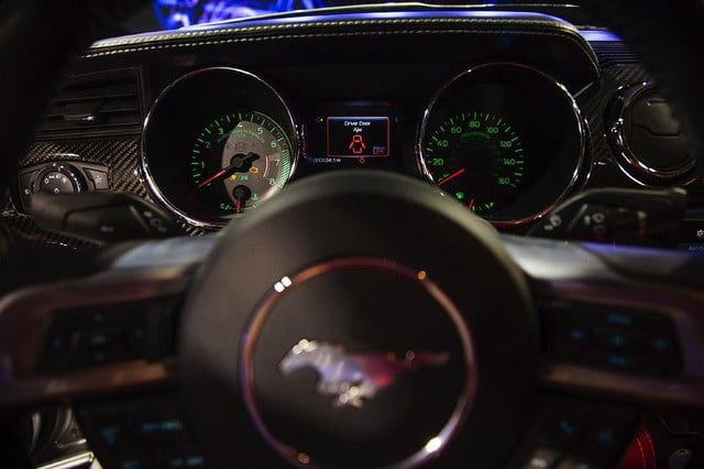 galpin auto sports unveils first production rocket mustang galpinrocket interior 02