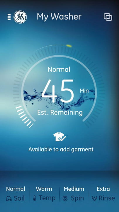ge unveils a full suite of smarthome appliances at ces 2015 profile connected kitchen my washer app
