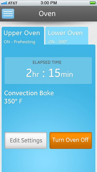 ge unveils a full suite of smarthome appliances at ces 2015 profile connected kitchen oven app