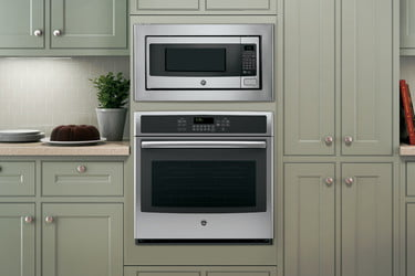 Ge Stainless Steel Countertop Microwave Oven
