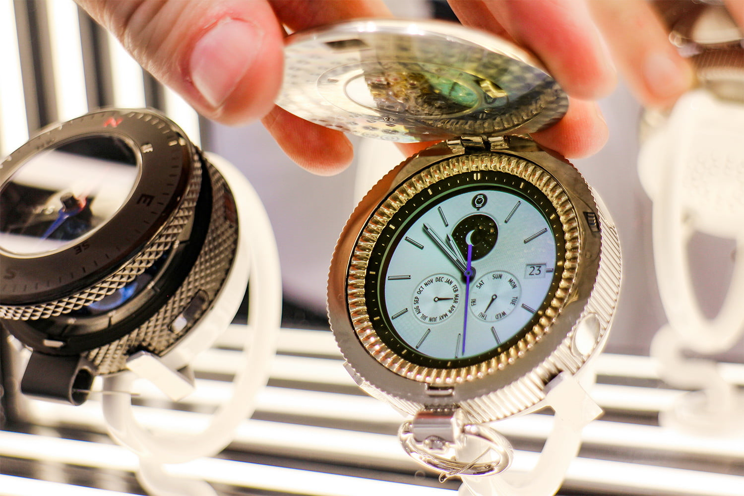 eb2a85e4df9 Samsung s Gear S3 Pocket Watch Is The Coolest Piece Of Retro Tech Yet