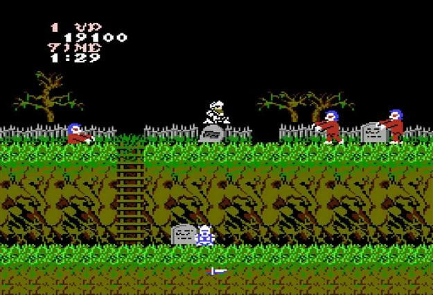 best nes games ever ghosts n goblins