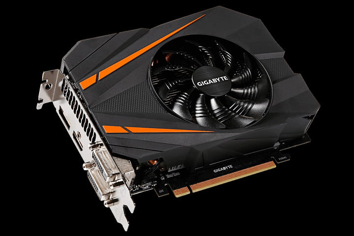Gigabyte is offering overclocked, compact GeForce GTX 1070 graphics card