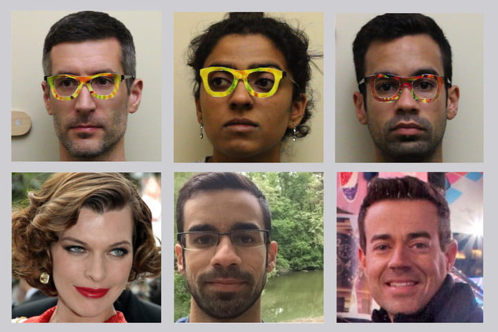 4e98623f2c Patterned glasses can fool facial-recognition system