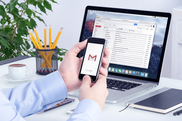 how to change gmail password on galaxy s7
