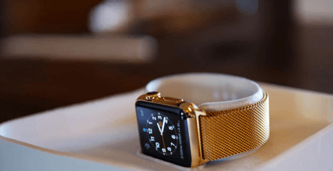 dont spend 17k on the gold apple watch get it plated for 400 mem 4