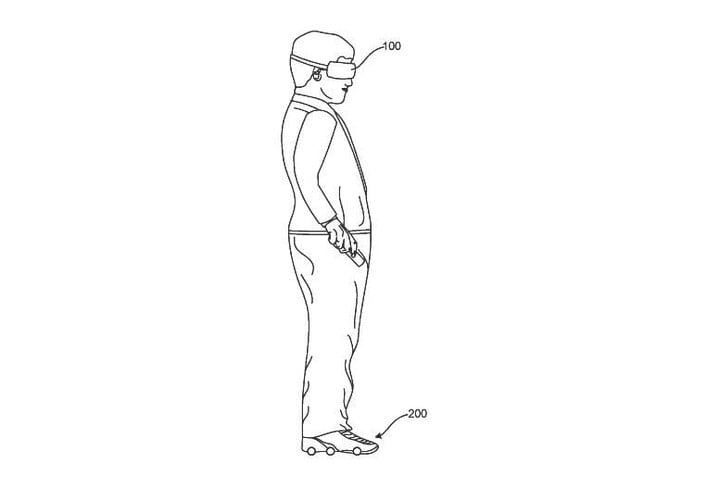 A Google patent shows a way to make VR even more immersive