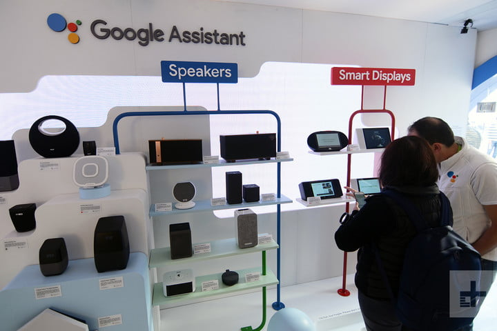 Google Booth CES 2018  - google booth ces 2018 google assistant speakers v2 720x720 - Google's Android Things is a new OS for the Internet of Things – KXXV-TV News Channel 25