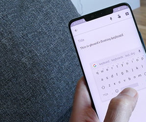 Google's new floating keyboard is so helpful, it'll put you on cloud nine