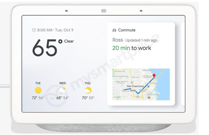 what to expect from google october event 2018 home hub leak front1